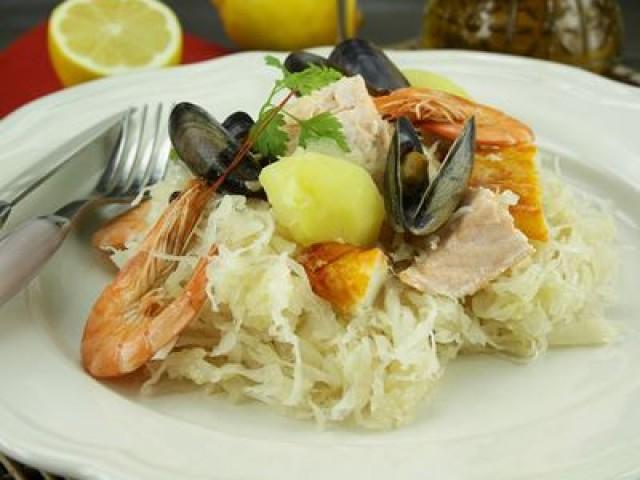 Brasserie Madeleine Choucroute de la mer