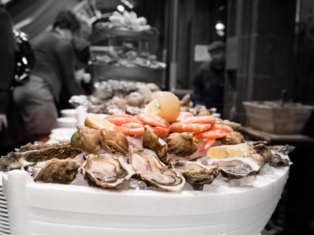 Brasserie Madeleine Plateau de fruits de mer